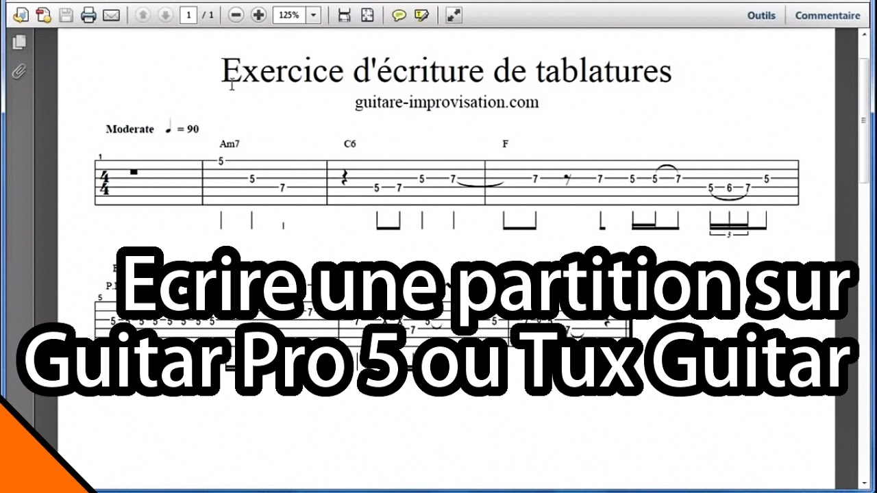 partition tuxguitar