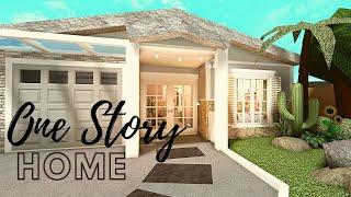 BLOXBURG One story Family house | NB Speed Build