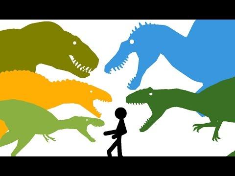 Dinosaurs Cartoons. Dinosaurs Battles Compilation part 3 DinoMania. Динозавры Мультфильм