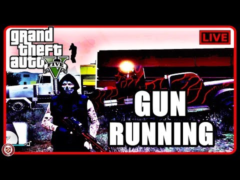 GTA Gun Running DLC Live! (25,000,000 Spending Spree)