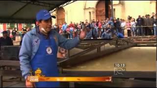 La arepa mas grande del mundo en Ventaquemada