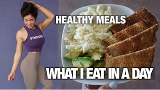 FULL DAY OF HEALTHY EATING | EAT HEALTHY & SAVE MONEY