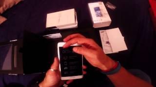 unboxing Telefono Celular Samsung Note Edge 2015 México Gopro Hero 3 Black