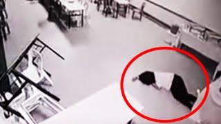 5 Violent & Scary Ghost Attacks Caught On Tape