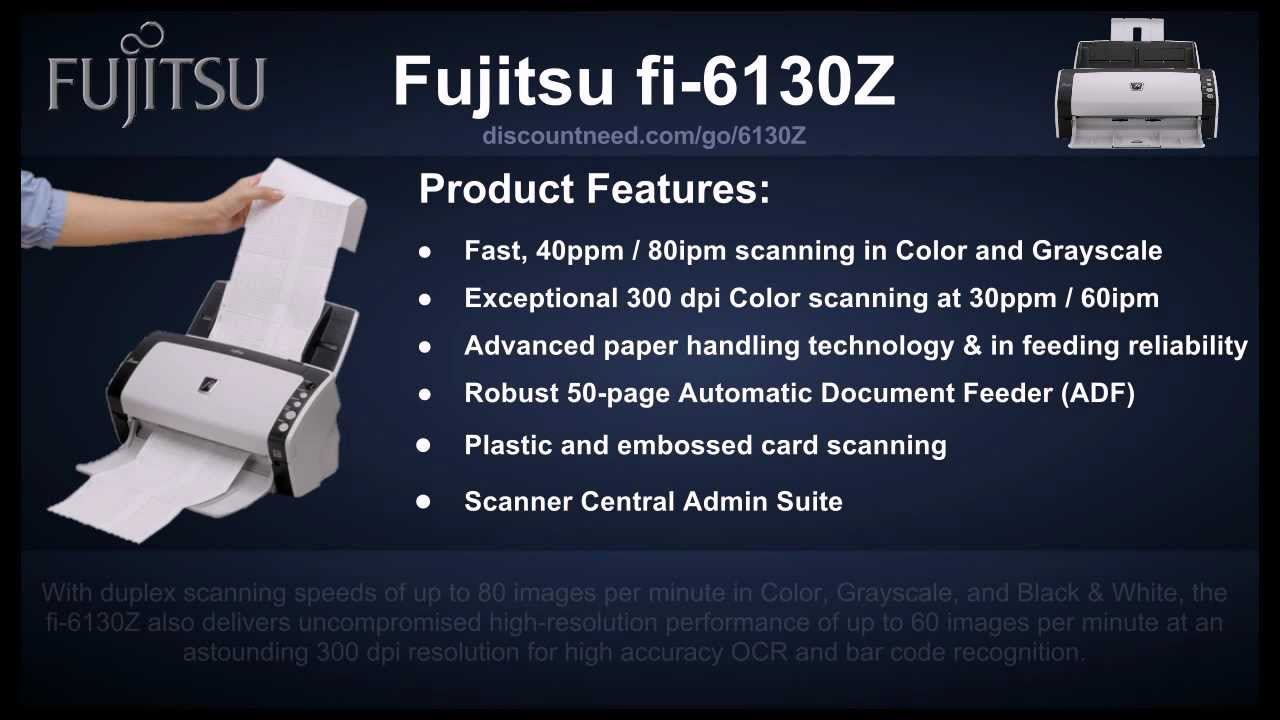 FUJITSU FI6130Z DRIVER DOWNLOAD FREE
