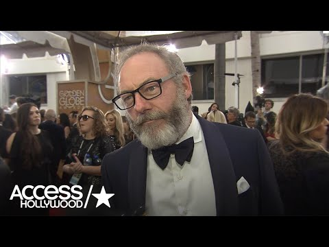 Thumbnail: Golden Globes: 'Game of Thrones' Star Liam Cunningham 'Star-Struck' On Red Carpet