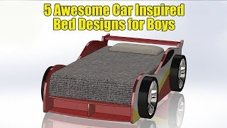 15 Awesome Car Inspired Bed Designs for Boys (Part 1: Wood Bed) - Thiết kế nội thất