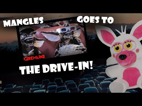 Fnaf Plush - Mangles Goes to the Drive In!!
