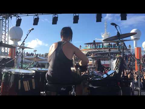 Oli Beaudoin (Kataklysm) - Live @ 70000 Tons of Metal 2018 - HD Drum Cam