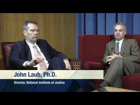 John H. Laub and Rob Samson (4 of 5) - The Stockholm Prize in Criminology - NIJ