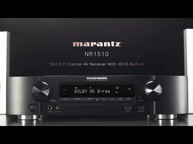 Marantz — Introducing the NR1510