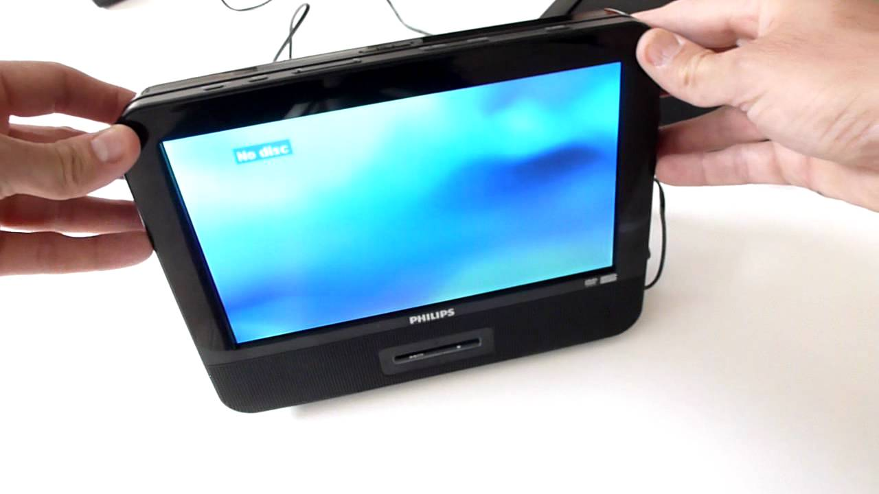 Philips twin dual screen in car portable dvd player pet9402 pd9012 pet9422 pd7016 pet 729 youtube