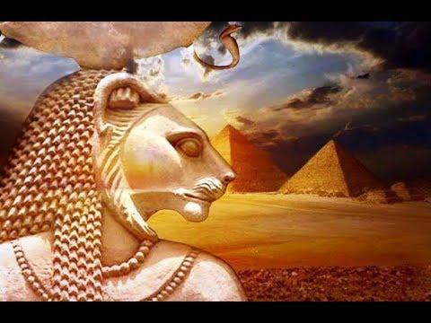 Sekhmet Flaming One Daughter of RA. Symbol of Alchemical Transformation