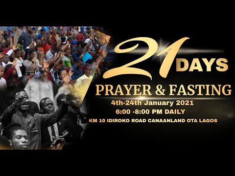 DOMI STREAM : ANNUAL PRAYER & FASTING | DAY 1 | 4, JANUARY 2021 | FAITH TABERNACLE OTA