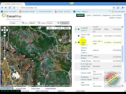 Bolivia's real estate site CasasMap.com HD