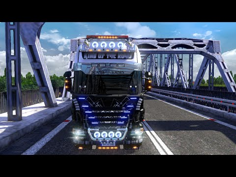 Euro Truck Simulator 2 - Scania R730 King Of The Road