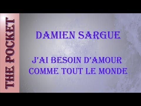 Karaoke Damien Sargue - J'ai besoin d'amour comme tout le monde