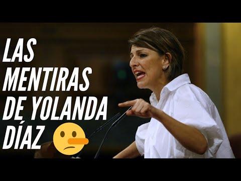 Las MENTIRAS POPULISTAS de YOLANDA DÍAZ (Podemos) contra el PP | Prohibir despedir