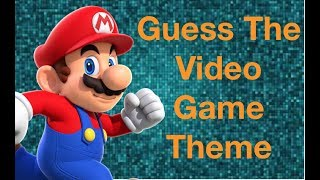 Can You Guess The VIDEO GAME Theme Song? NINTENDO - XBOX - PLAYSTATION - SEGA
