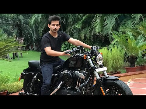 Harley Davidson Forty Eight Delivery & Screaming Eagle Exhaust Sound | India
