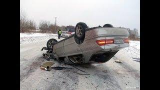 Россия Зима аварии ДТП снятые на камеру 2017 Car Crash