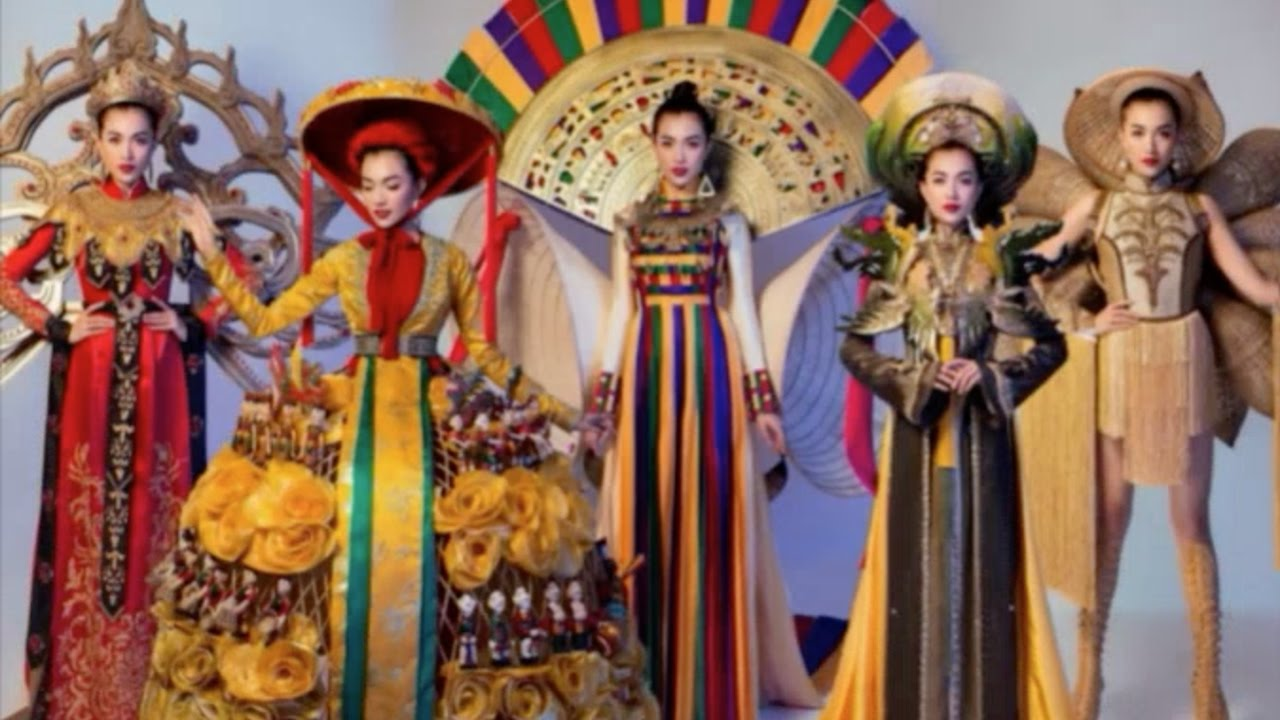 MISS UNIVERSE 2017 - NATIONAL COSTUME WINNER is Miss Vietnam - 65th Miss  Universe