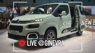 Citroen Berlingo, l'MPV che non rinuncia allo stile | Salone di Ginevra 2018