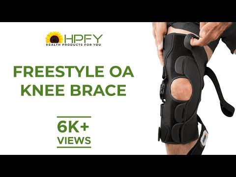Freestyle OA Knee Brace Video