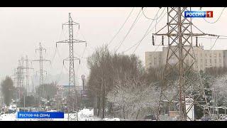 На стройке моста Малиновского в Ростове приступили к переносу ЛЭП