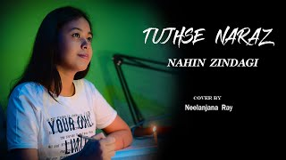 Tujhse Naraz Nahin Zindagi   Female Cover   Neelanjana Ray  Gulzar Shayari  Lata Mangeshkar