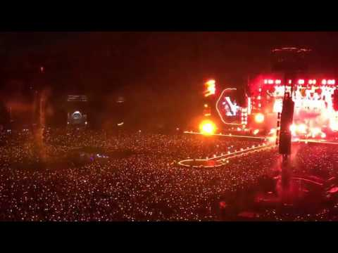 Fix you - Coldplay live in Bangkok (7/04/17)