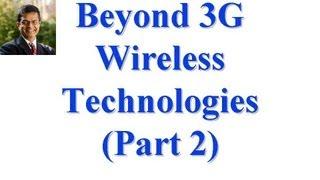 CSE 574S-10-PB: Beyond 3G Wireless Technologies