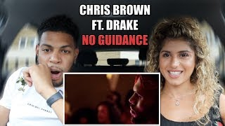 Chris Brown - No Guidance (Official Video) ft. Drake - REACTION