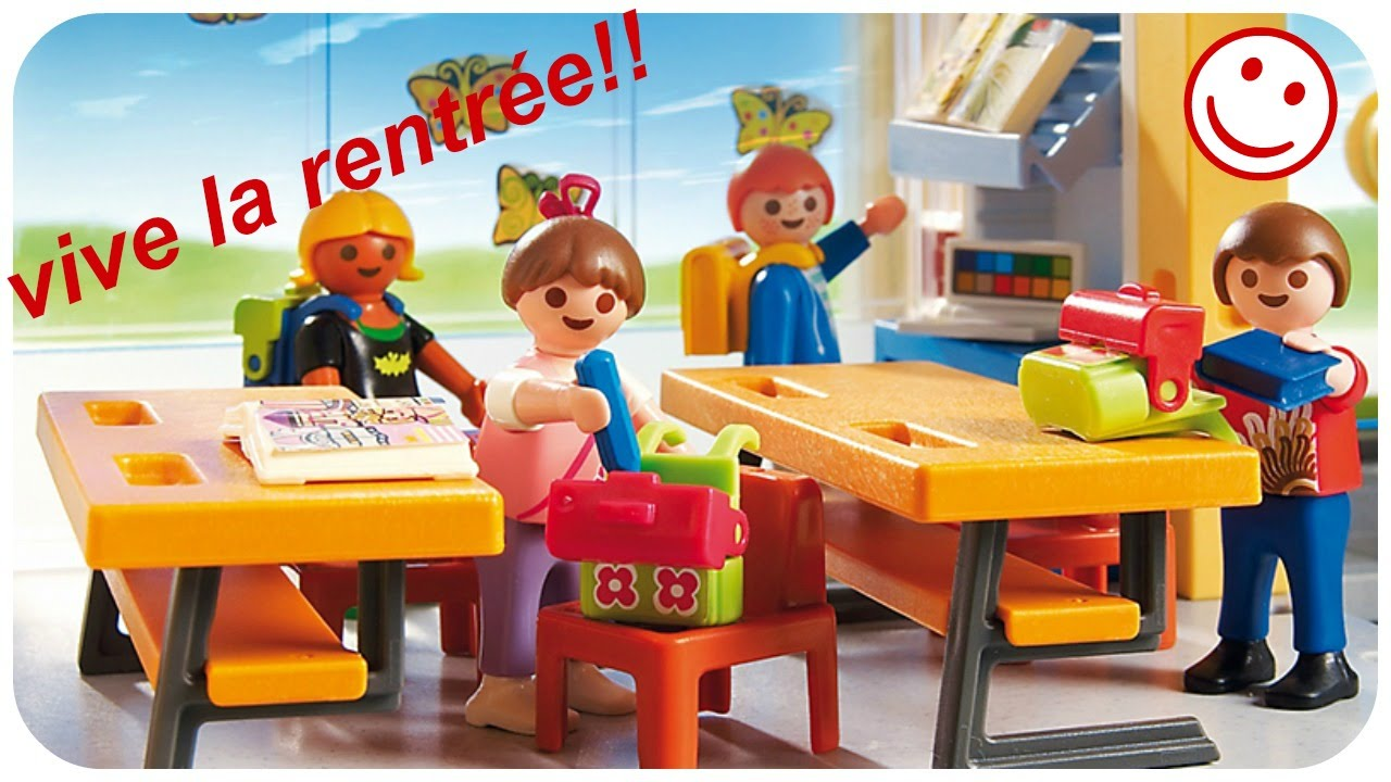 film playmobil la rentr e scolaire stop motion youtube. Black Bedroom Furniture Sets. Home Design Ideas