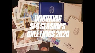 UNBOXING SF9 (에스에프나인) Season's Greetings 2020