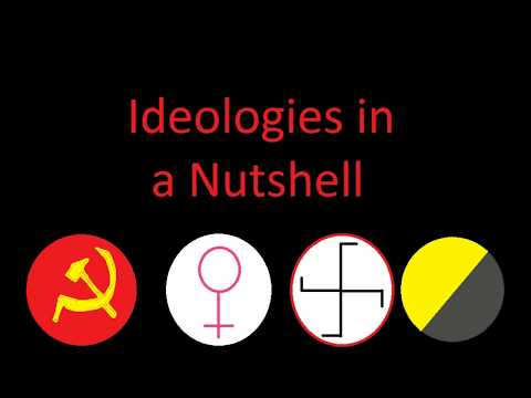 Ideologies in a Nutshell (Ancap, NatSoc, Fem and Communism)