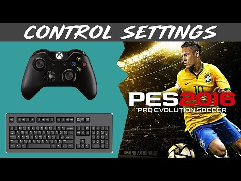 How To Set PES 2016 Controls Guide