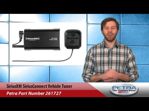 SiriusXM SiriusConnect Vehicle Tuner Mp3