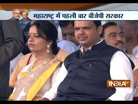 Devendra Fadnavis sworn-in as Chief Minister of Maharashtra