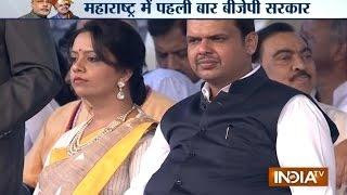 Devendra Fadnavis sworn-in as Chief Minister of Maharashtra