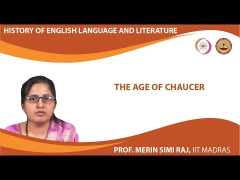 Lecture 2 - The Age of Chaucer