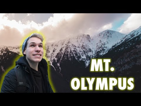 CLIMBING MT. OLYMPUS GREECE!