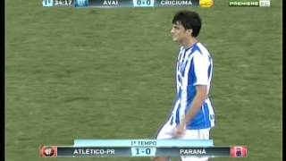 Avaí 1 x 1 Criciúma - Brasileirão Série B 2012 - Última rodada - Jogo Completo.