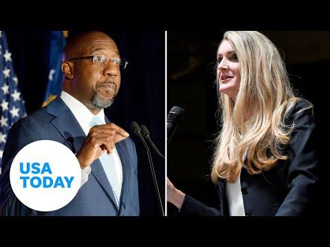 Georgia U.S. Senate runoff: Kelly Loeffler and Raphael Warnock debate in Atlanta | USA TODAY