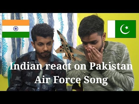 Indian Reaction on Pakistan Air Force Sher Dil Shaheen by Rahat Fateh Ali Khan and Imran Abbas thumbnail