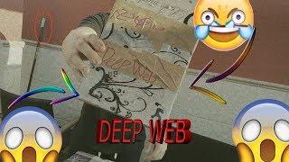 CAJA DEEP WEB- MEGA REAL CON  ARCOIRIS
