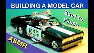 Model Car Assembly Video - ASMR