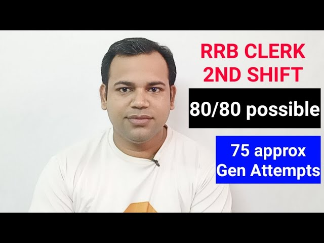 80/80 Attempt RRB 2ND Shift phone Review