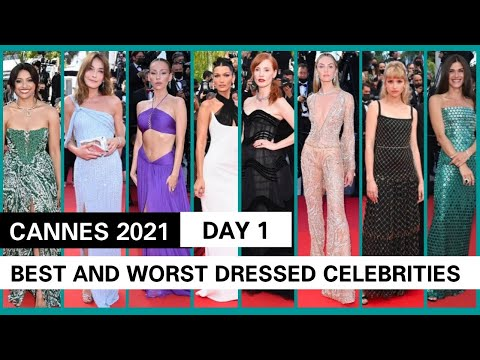 CANNES 2021 | DAY 1 | BEST AND WORST DRESSED CELEBRITIES | RANKING | Bella Hadid , Jodie Foster etc