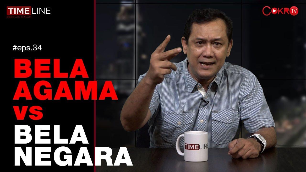 Denny Siregar: BELA AGAMA vs BELA NEGARA I TIMELINE - YouTube